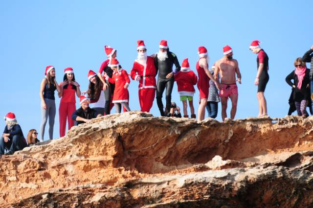 Christmas Cliff Jumping in Ibiza - Best Season