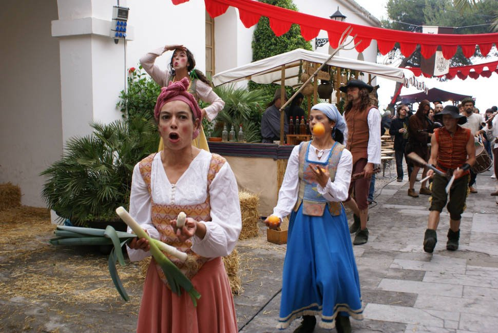 Best time for Medieval Festival Ibiza