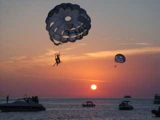Take off Ibiza with Parasailing