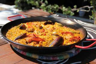 Typical Mediterranean Food