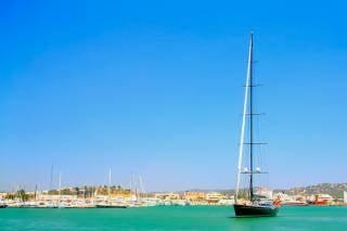 Yachting around Ibiza