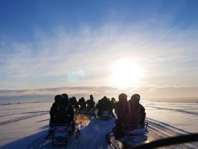 Glacier Snowmobiling in Iceland - Best Season