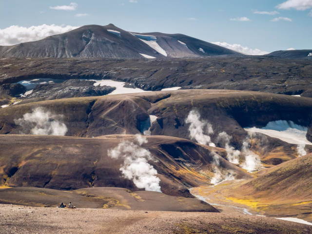Best time for Landmannalaugar in Iceland