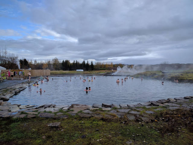 Secret Lagoon in Iceland - Best Time
