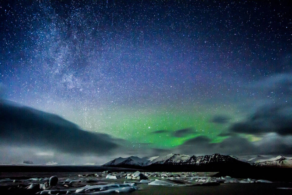 Best time for Northern Lights in Iceland