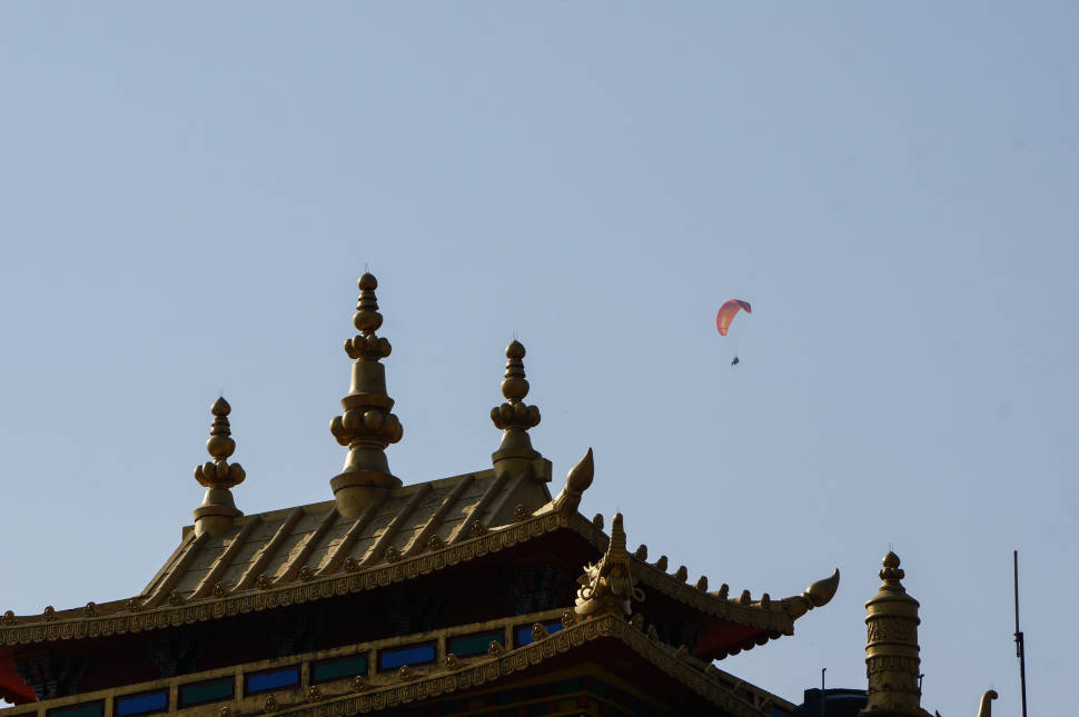 Best time for Paragliding in India
