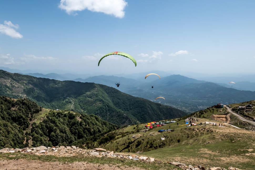 Bir paragliding