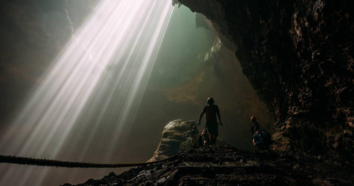 Heaven Light (Jomblang Cave) in Indonesia - Best Time