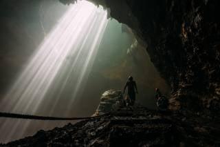Heaven Light (Jomblang Cave)