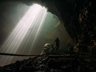 Heaven Light (Jomblang Cave)
