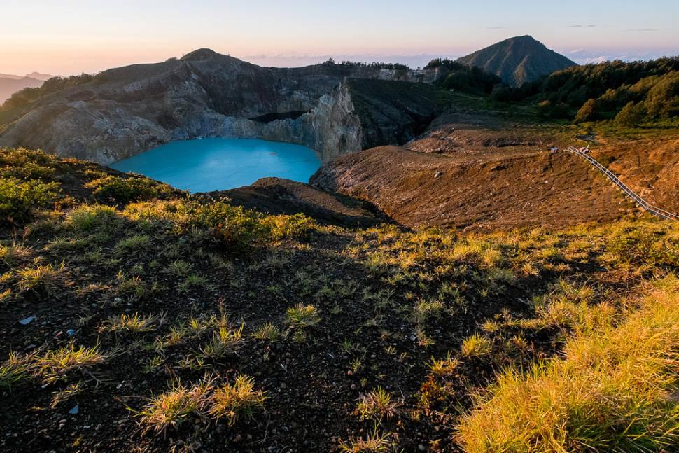 Kelimutu Crater Lakes in Indonesia - Best Season