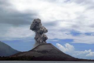 Krakatoa Island and Volcano