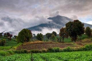 Climbing Mount Kerinci