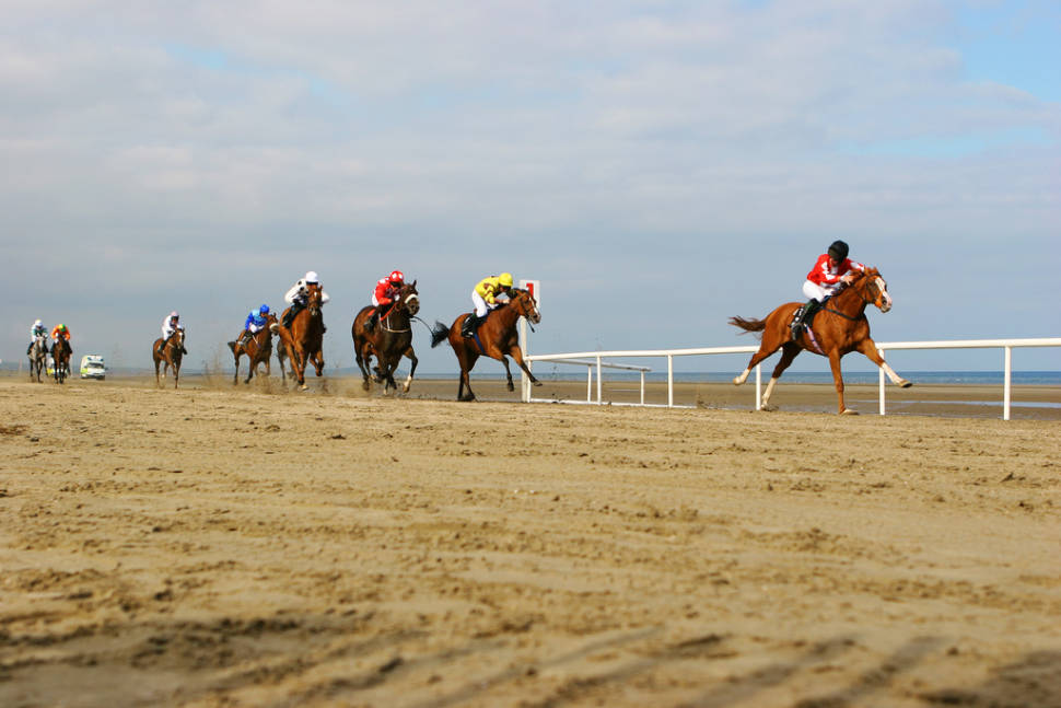Best time for Laytown Beach Races in Ireland