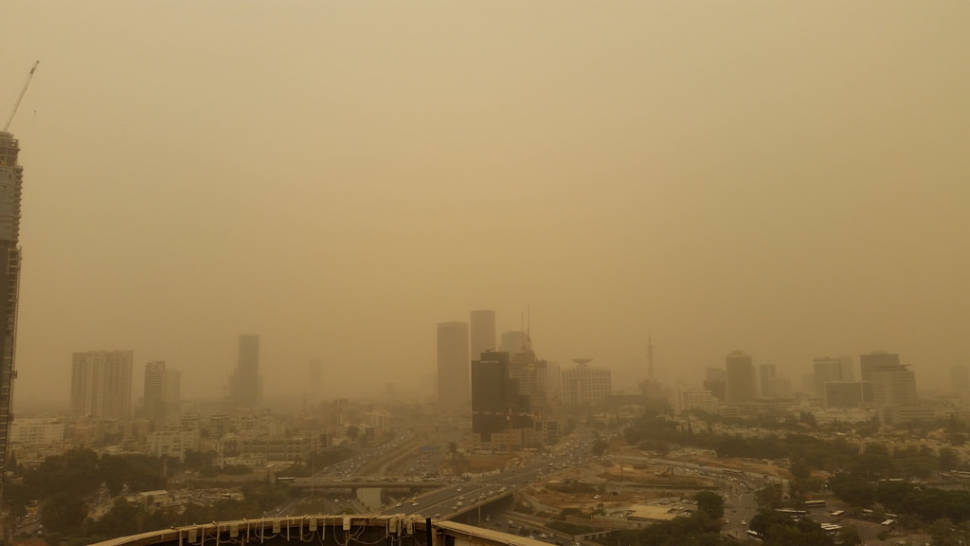 Dust Storms in Israel - Best Time