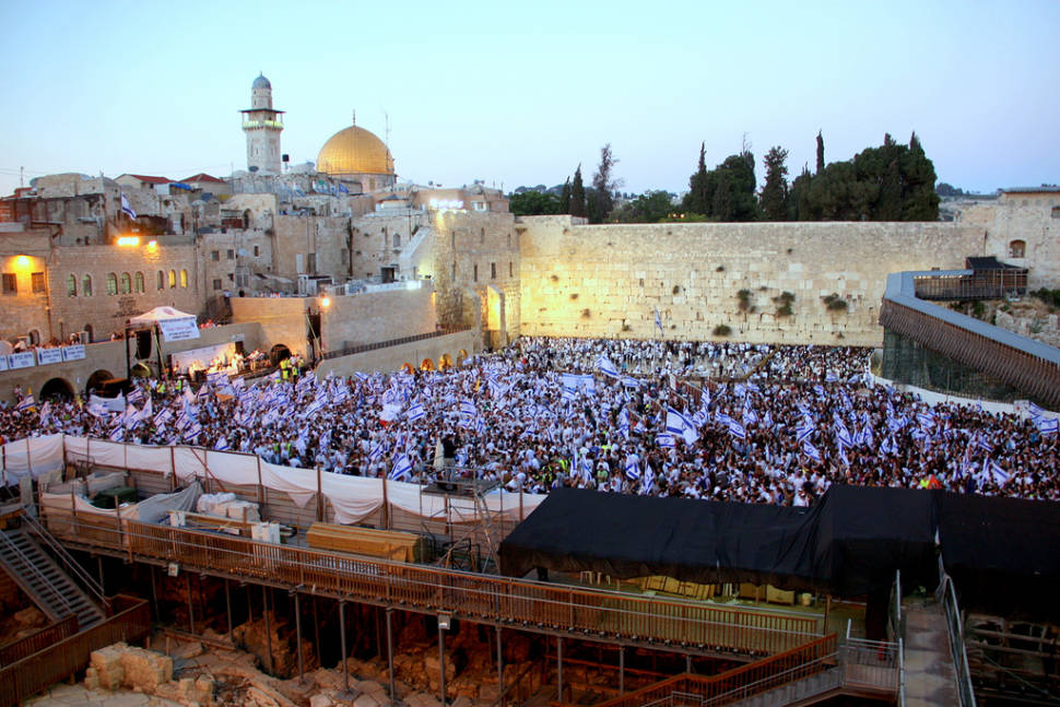 Best time for Jerusalem Day in Israel