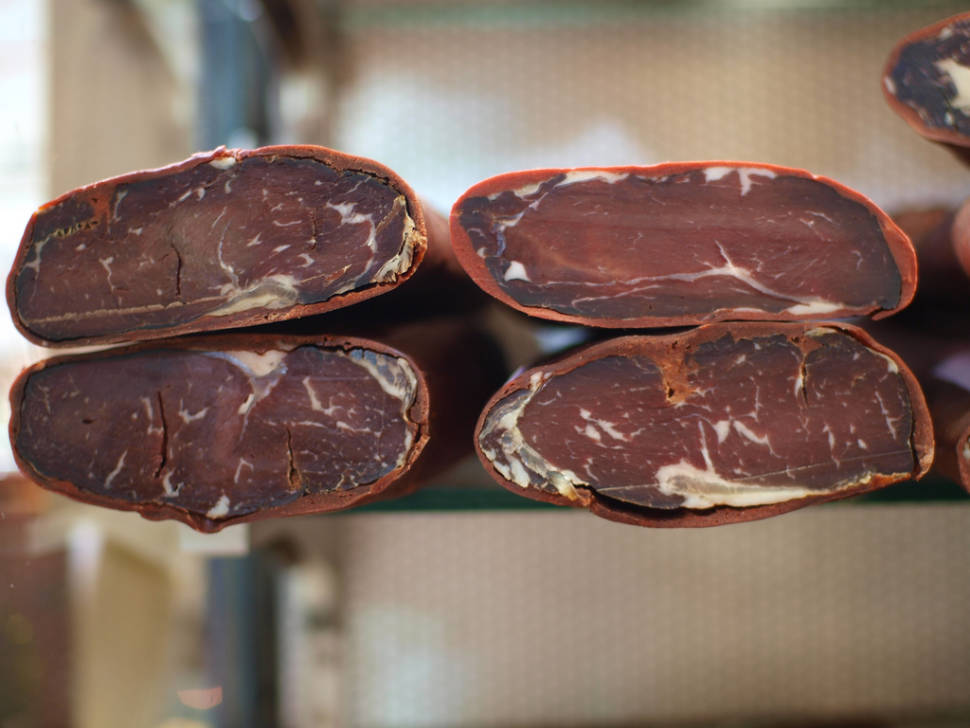 "Cured beef called ""pastirma"""