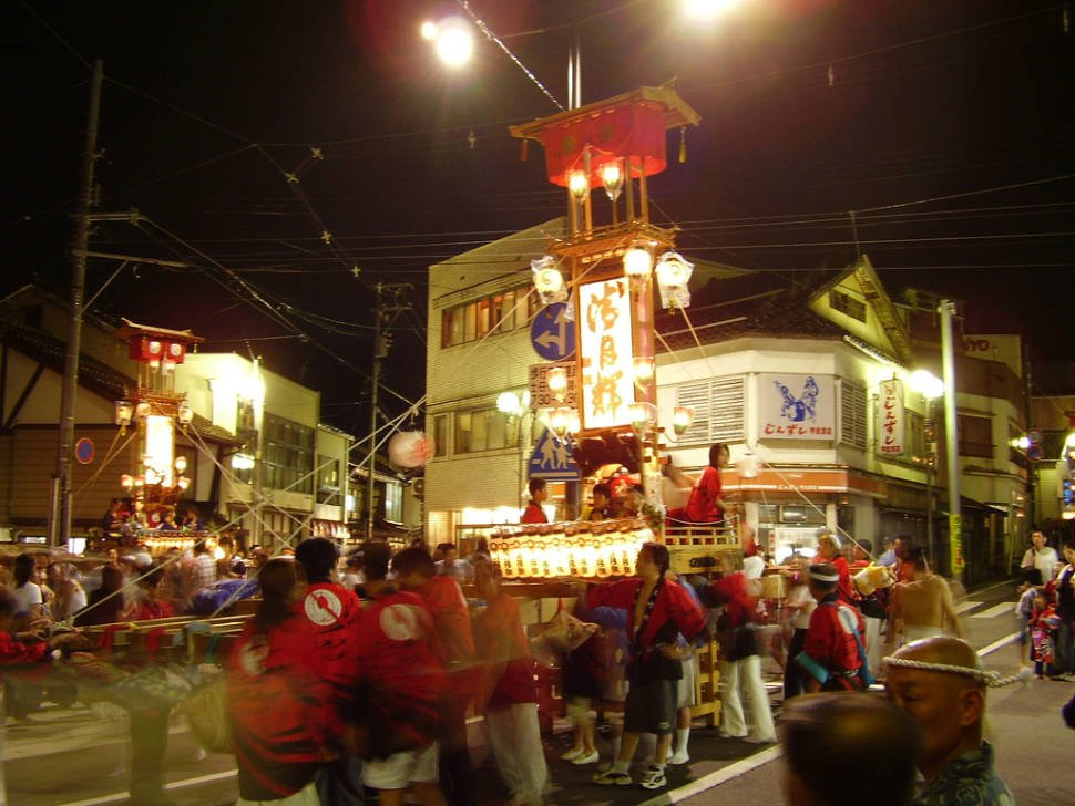 Best time to see Abare Festival in Japan