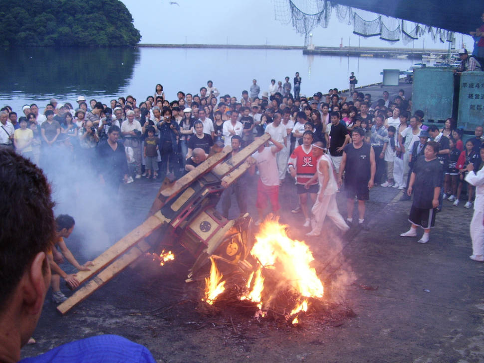 Best time for Abare Festival in Japan
