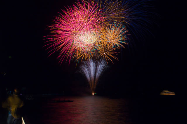 Fireworks on Lake Toyako in Japan - Best Season