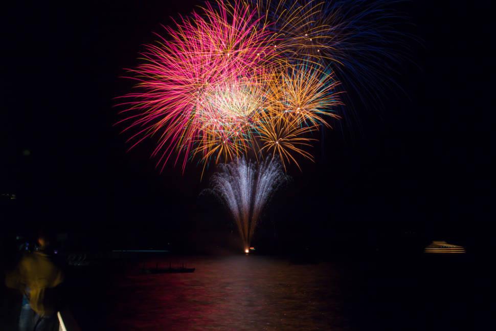 Fireworks on Lake Toyako in Japan - Best Season
