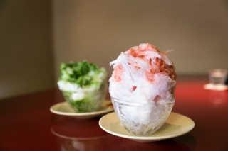 Kakigori or Shaved Ice