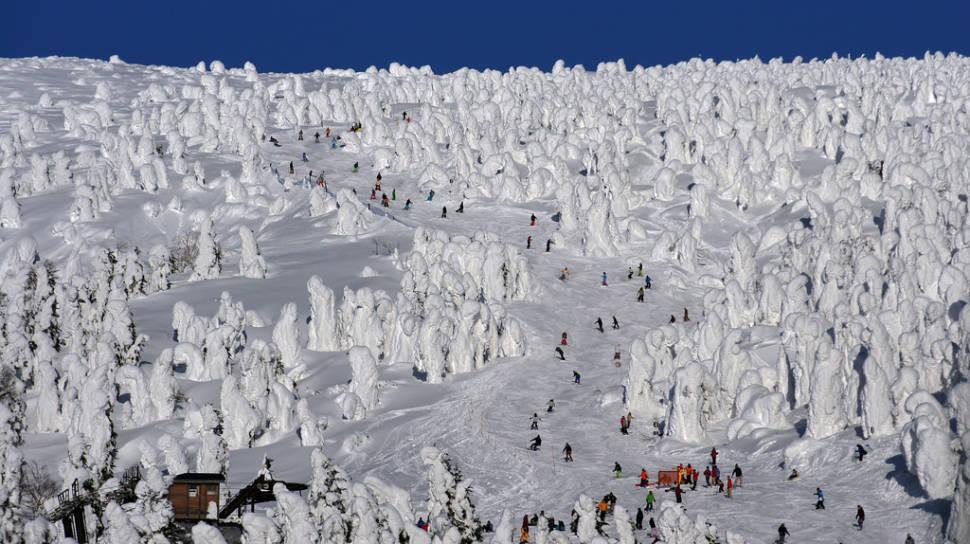 蔵王スキー場 Mount Zao ski area