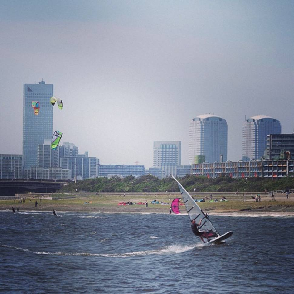Windsurfing in Japan - Best Season