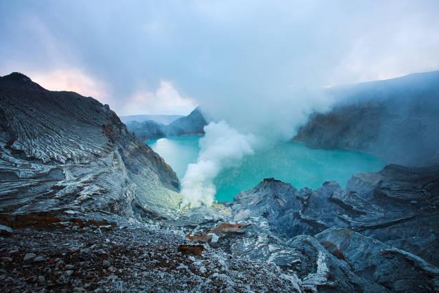 Kawah Ijen Volcano in Java - Best Season