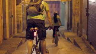 Midnight Biking