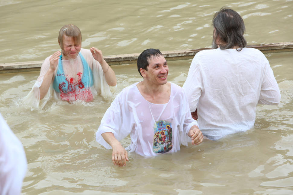 Renewing the baptism