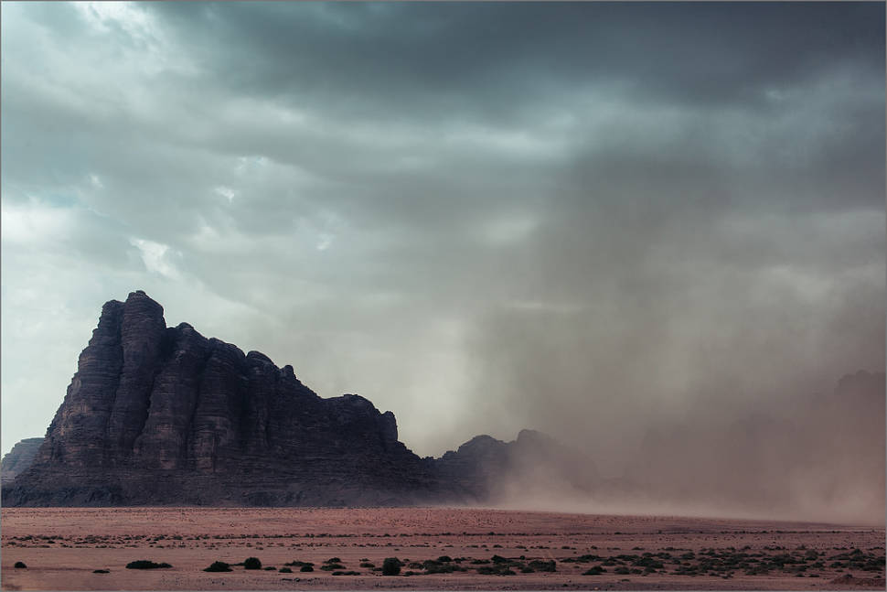 Desert Wind or Khamseen in Jordan - Best Time