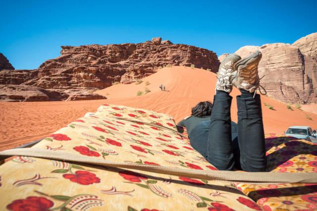 Best time for Sand Riding or Desert Safari in Jordan