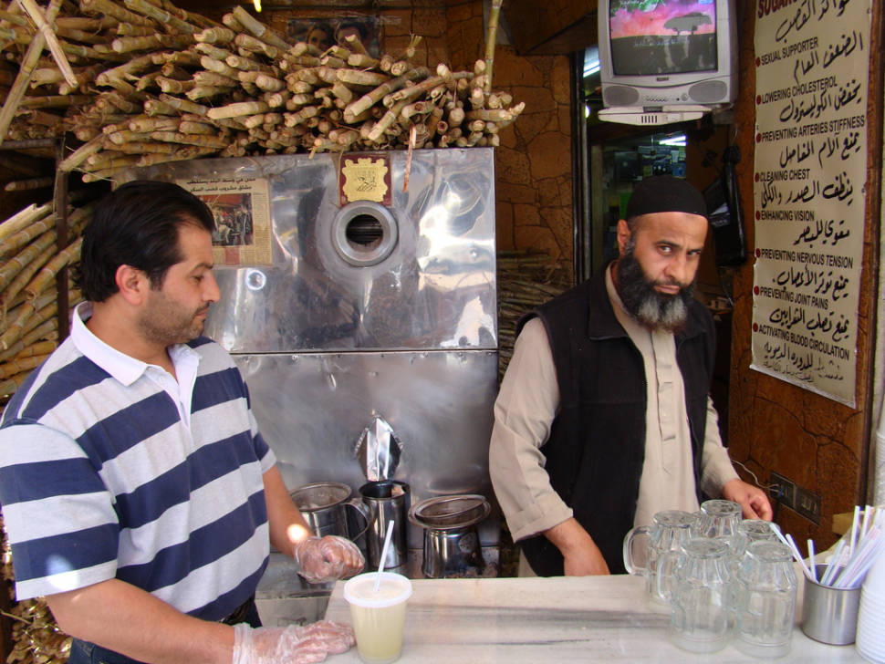 Best time for Sugarcane Juice in Jordan