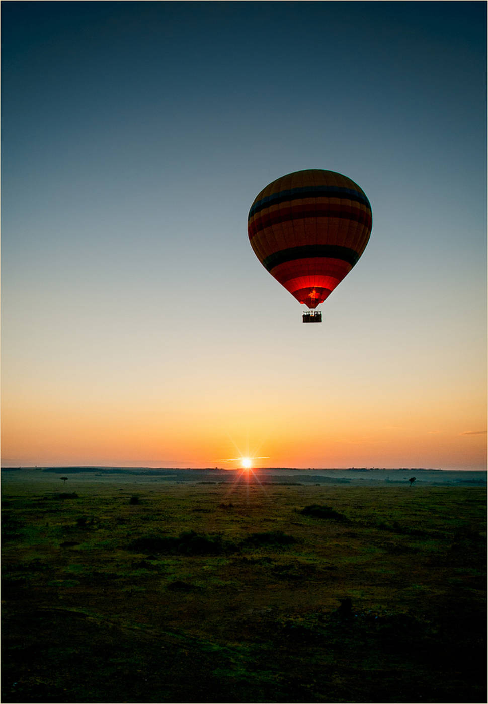 Masai Mara at Sunrise