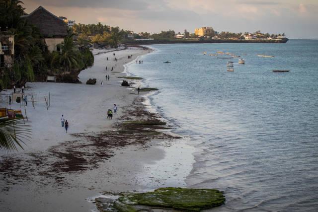 Nyali Beach, Voyager Beach Resort, Mombasa
