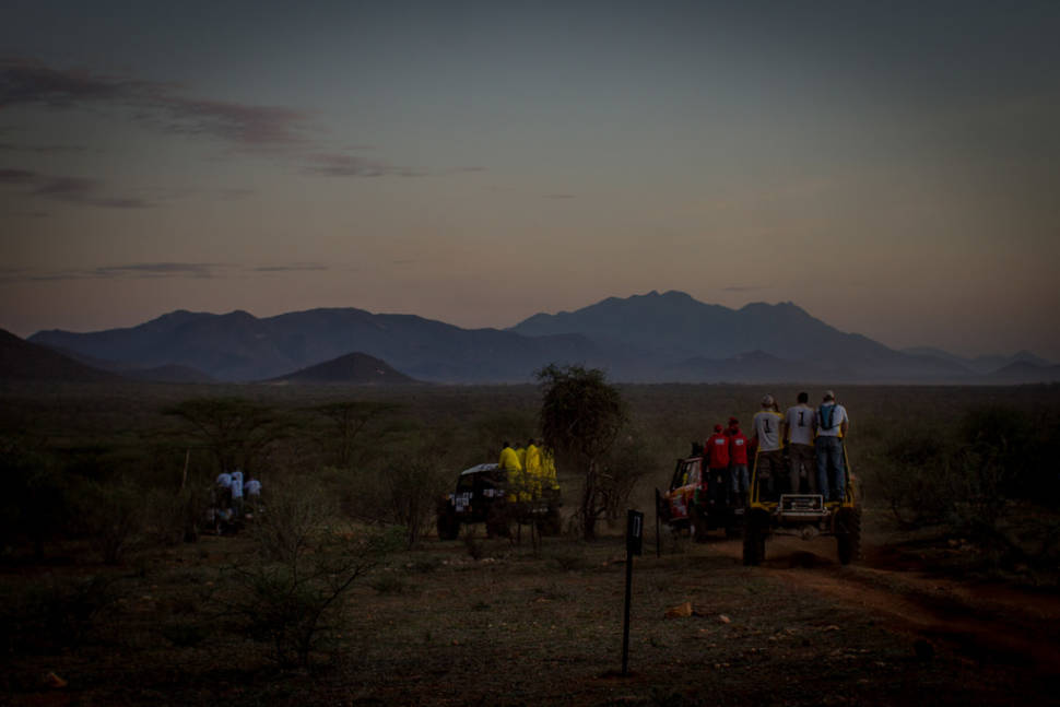 Best time for Rhino Charge in Kenya