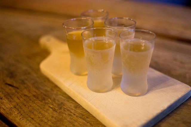 Delicious honey vodka