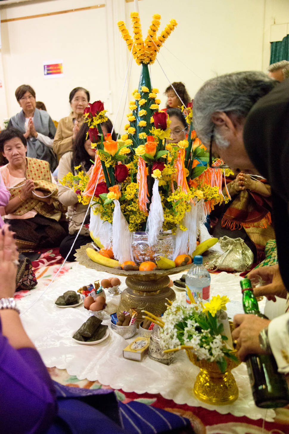 Best time for Baci Ceremony in Laos