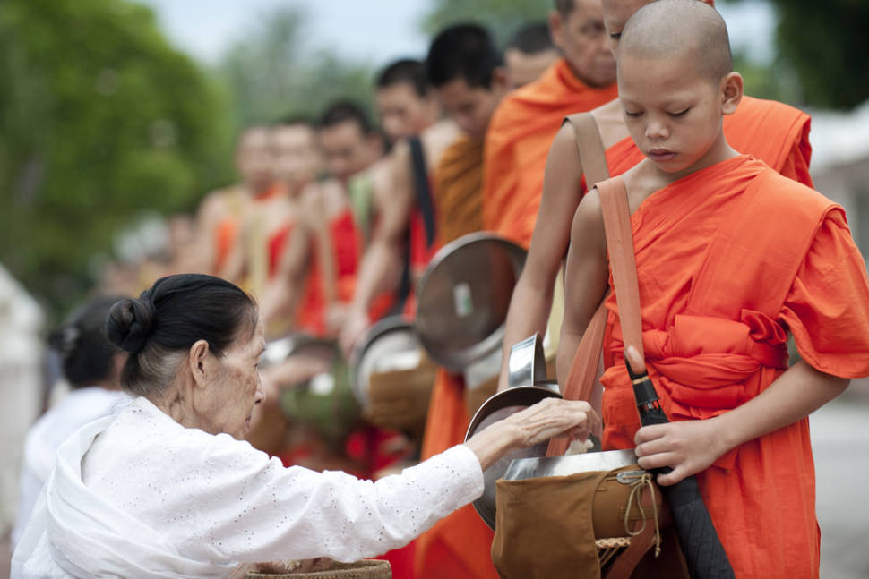 Best time to see Boun Khao Phansa or the First Day of Buddhist Lent in Laos