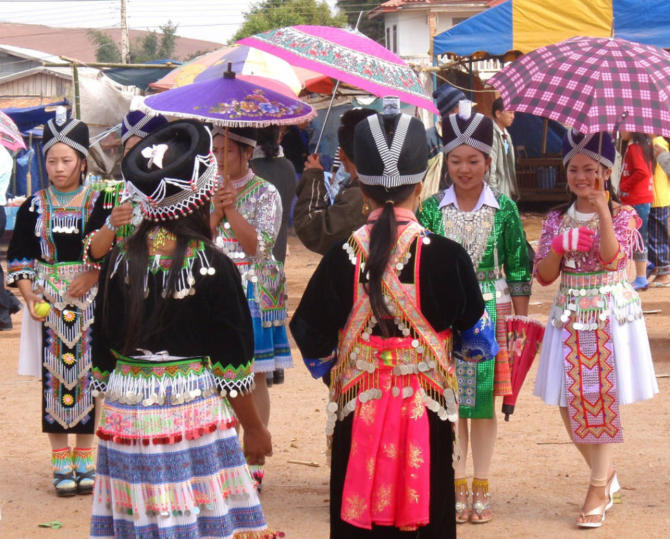 Best time for Hmong New Year in Laos