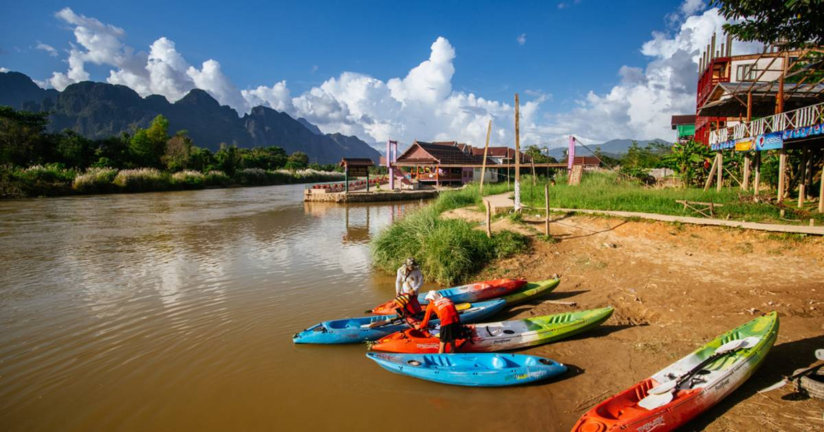 Kayaking in Laos - Best Time