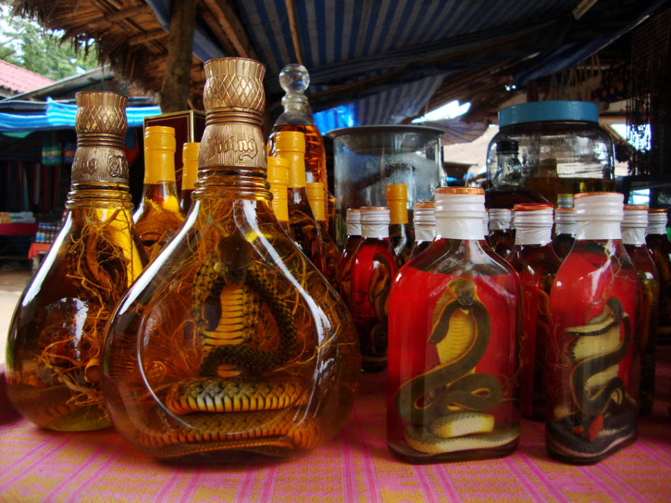 Lao-Lao Whiskey in Laos - Best Time