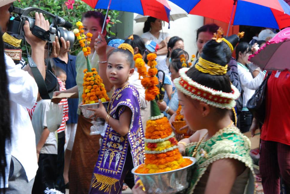 Pi Mai Lao or Lao New Year in Laos - Best Season