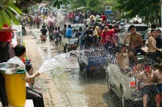 Pi Mai Lao or Lao New Year