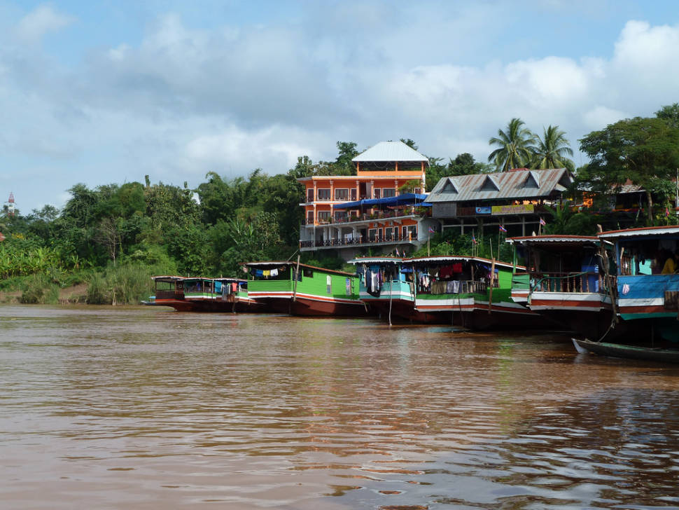 Best time to see Slow Boat on the Mekong River in Laos