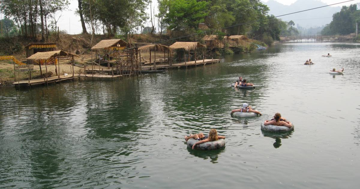 Tubing in Laos - Best Time