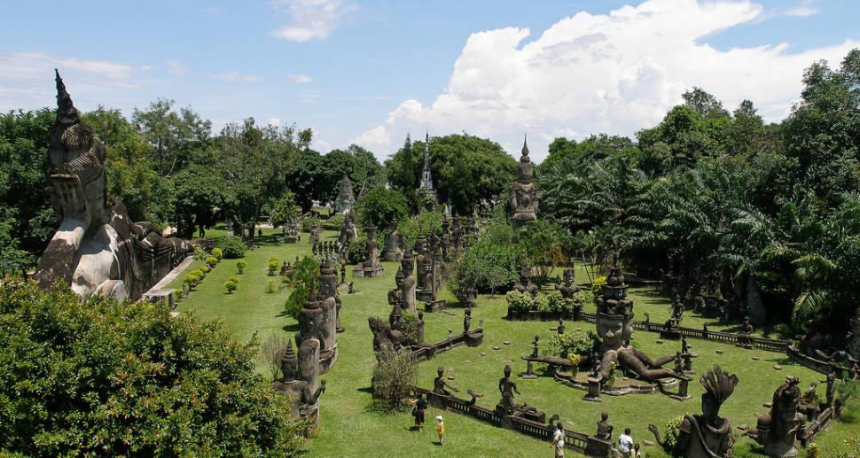Xieng Khuan or Buddha Park in Laos - Best Season
