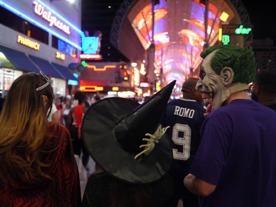 Best time to see Halloween in Las Vegas
