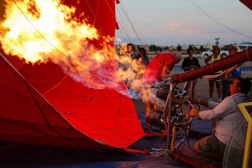 Best time for Sunset Hot Air Balloon Rides